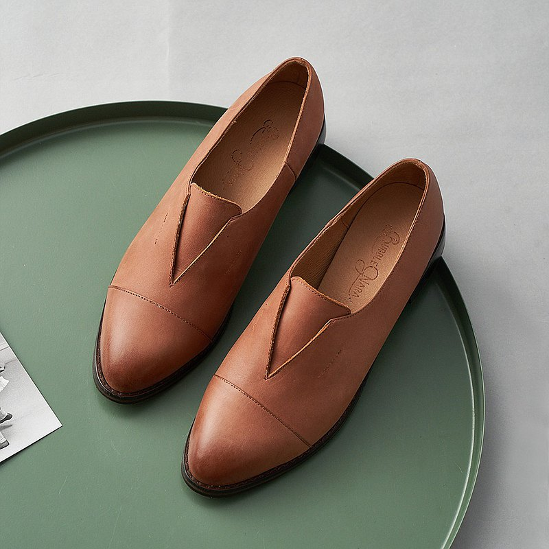 Rabbit gentleman small leather shoes-Danshanmei