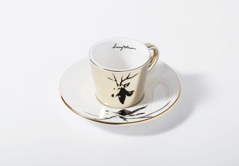 Luycho 鏡面倒影杯組 濃縮咖啡杯 _ 麋鹿