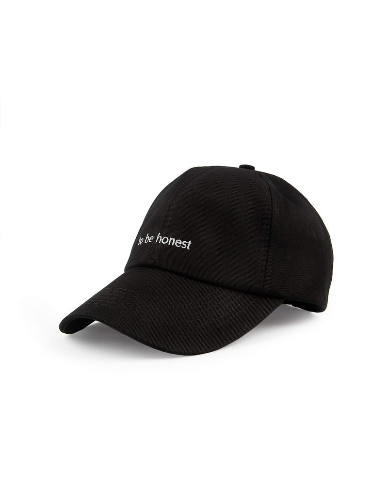 Honest Cap to be honest Cap (Black)