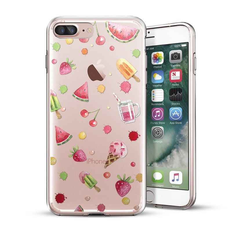 AppleWork iPhone 6 / 6S / 7/8 Original Design Case - Ice Cream Fruit CHIP-067
