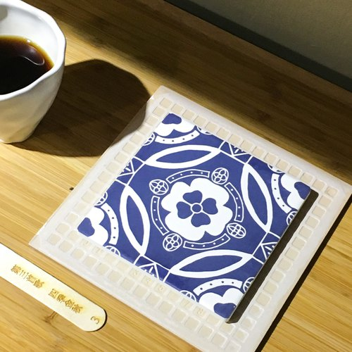 Taiwan Majolica Tiles Coaster【Autumn】
