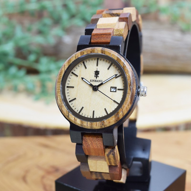 EINBAND Schatz MapleWood 32mm Wooden Watch