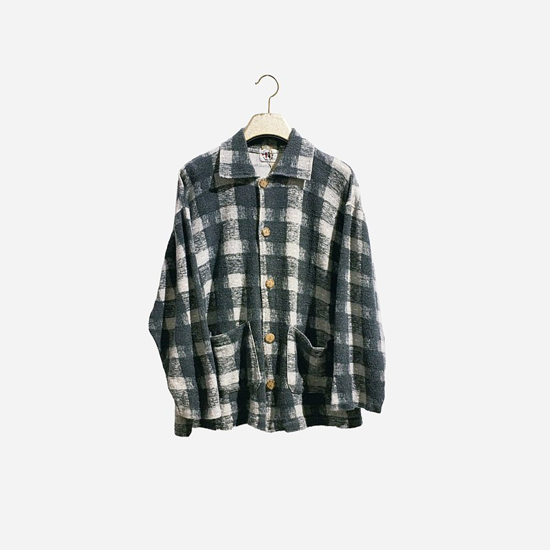 Dislocated vintage / plaid double pocket shirt no.1301 vintage