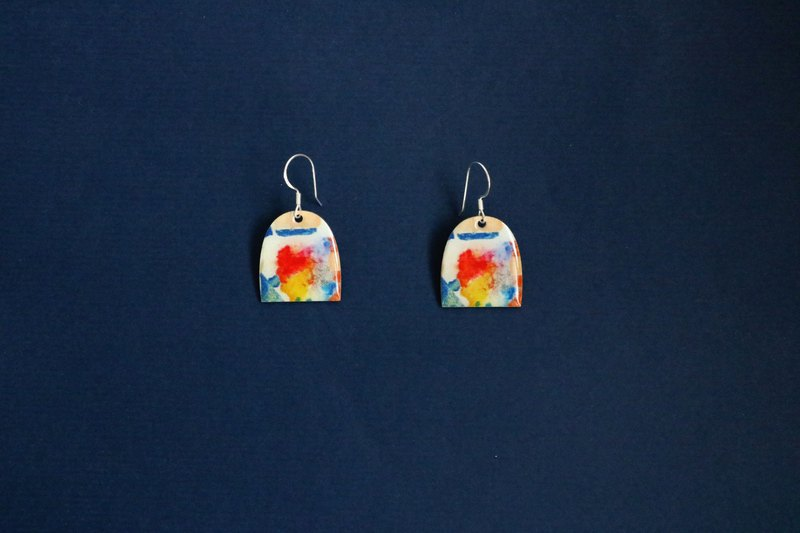 Hsin Hsiu Yao illustration earrings #31