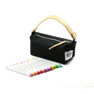 Mini lunch bag || Ink black