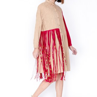 ZIZTAR Glamorous Flowy on Desert Dress