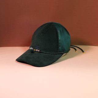 Green customise moroccan cap and choker - Moroqshade