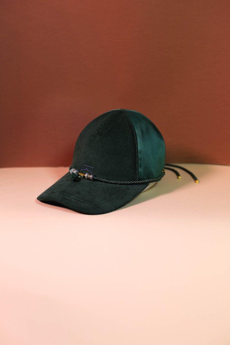 16d049e0d5b1 Green customise moroccan cap and choker - Moroqshade - Designer Kodangs