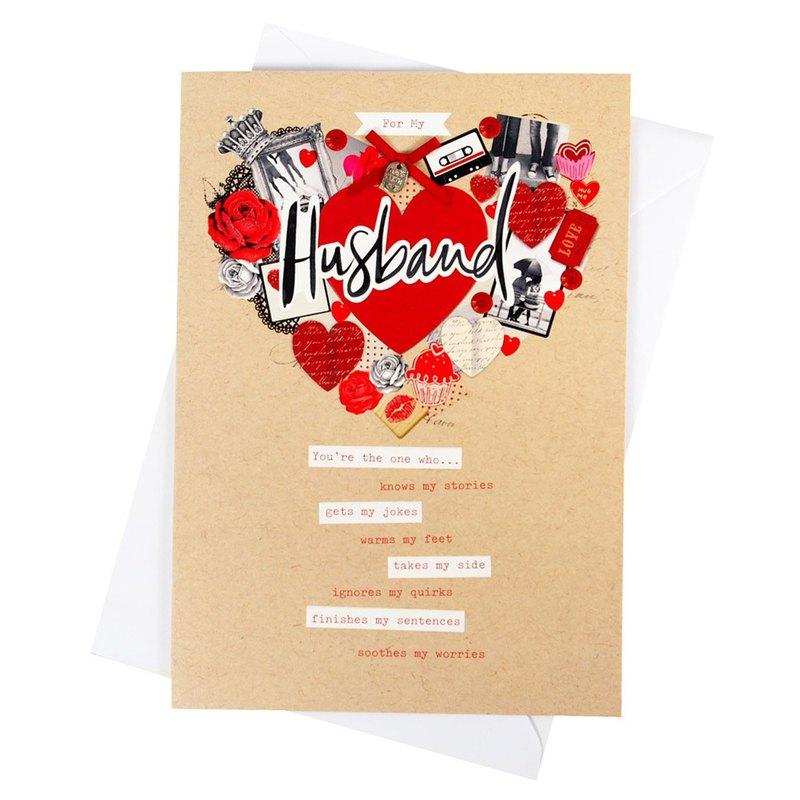 獻給我親愛的老公【Hallmark-卡片 週年感言】