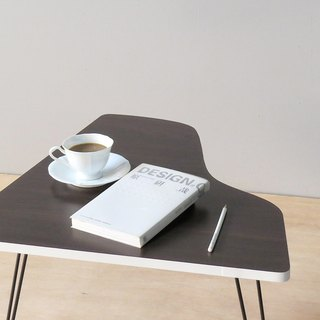 HO MOOD music series - piano folding table (white side).