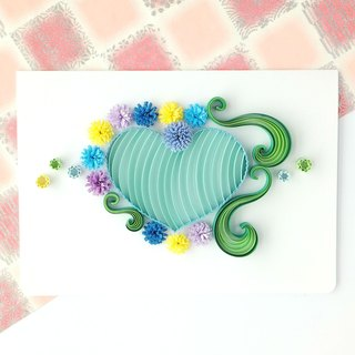 Hand made decorative cards-Love