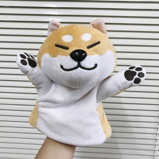 2017 new product store Shiba Inu puppet puppet / toy / doll squinting eyes