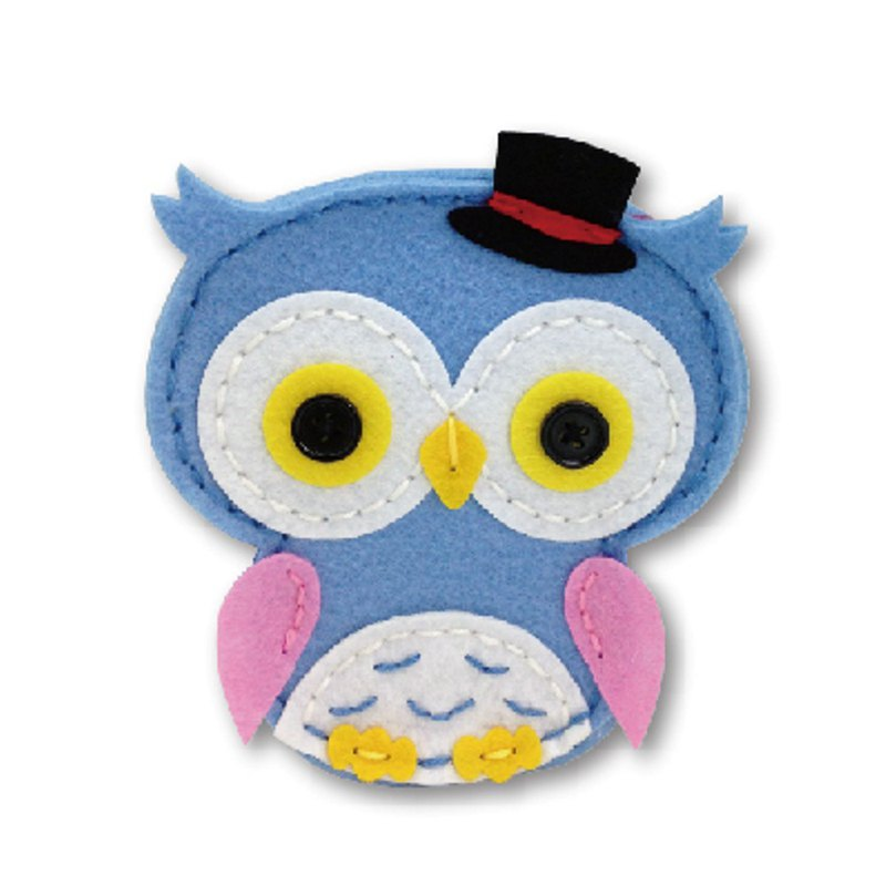 Fairy Land [Package] Owl Coin Purse-Blue