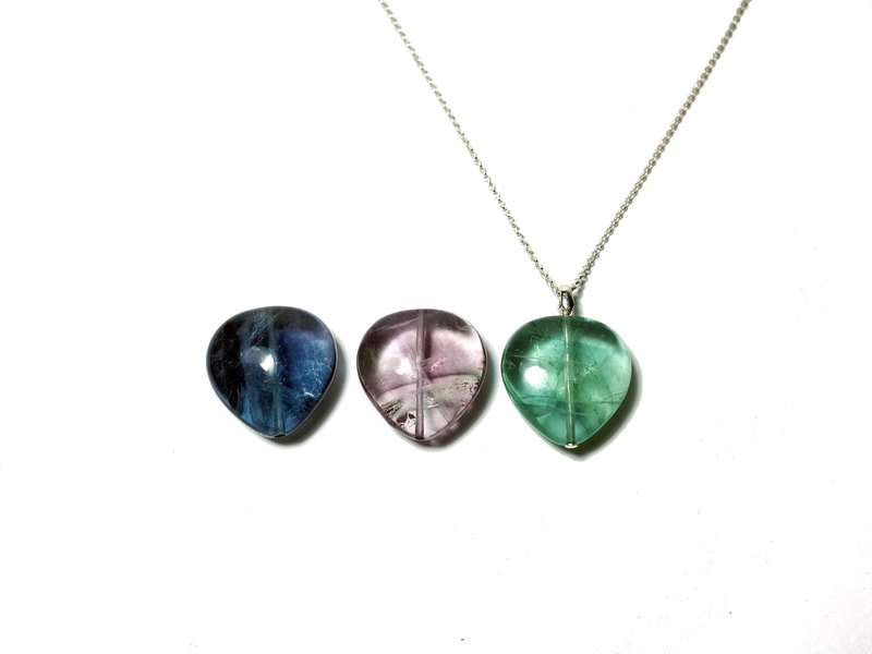 Silver925 Necklace , Fluorite (limited-edition)