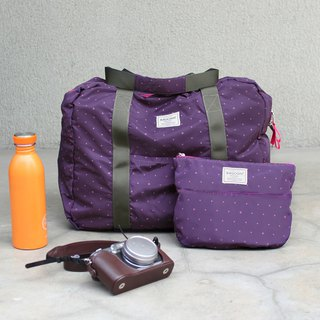 (Mercerized series) Fanny Travel Bag-Purple_100420-40