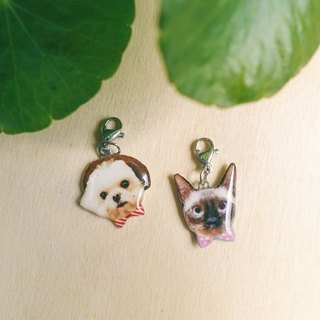 Custom Pet Dogs/Portraits Stainless Steel Pendants