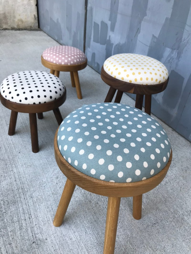 TOMO-Flip-Flops / Dots / Wooden Chair Stool Side Table Gift