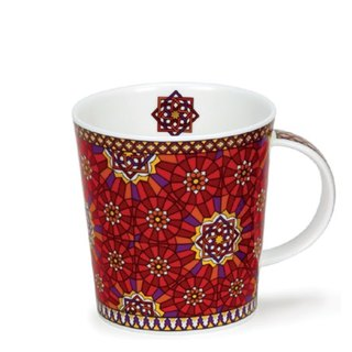 Persian lyrical mug - concentric knot