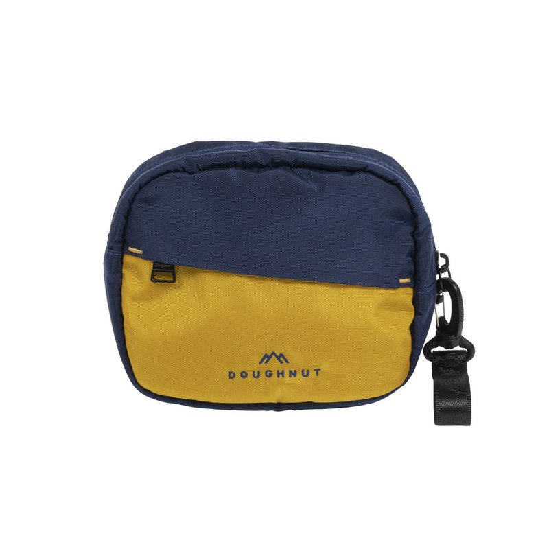 Doughnut Sports Player Messenger Bag - Navy Yellow