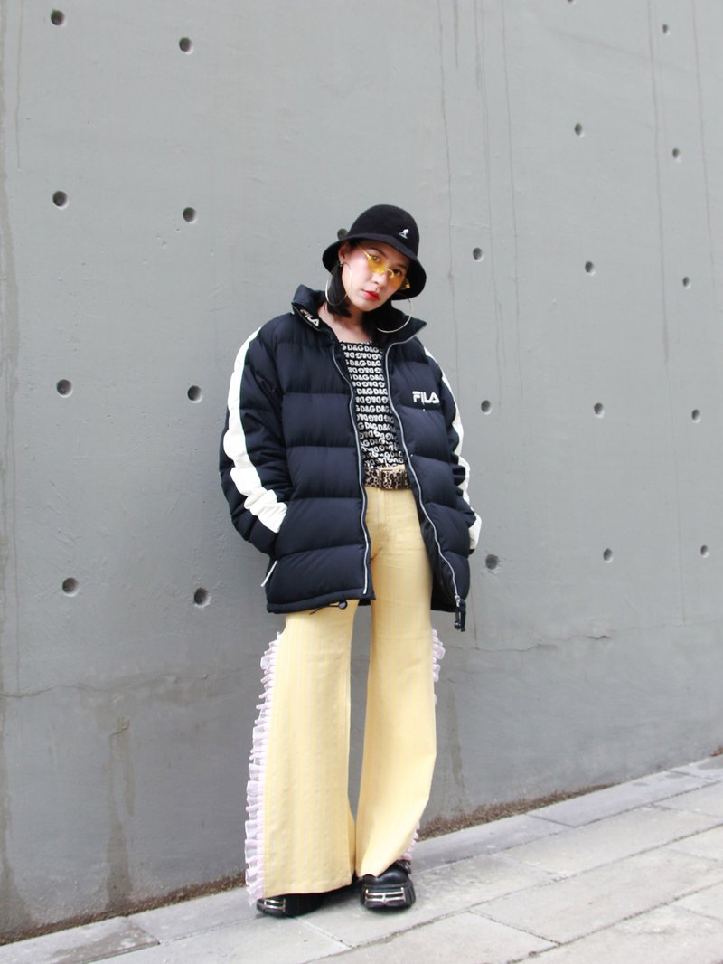 ///Fatty bone/// 90s vintage FILA down jacket Vintage