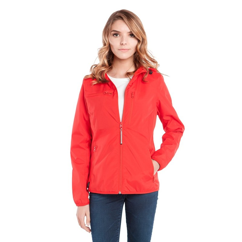 BAUBAX WINDBREAKER Multifunctional Windproof Jacket (Women)-Red