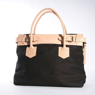 Clare bag / klaire Bag / cowhide handle / hand-limited / black M