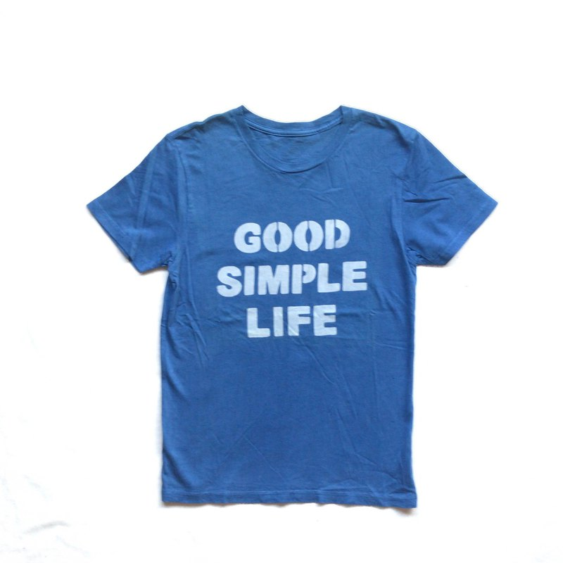 藍染 GOOD SIMPLE LIFE - Indigo dye organic cotton