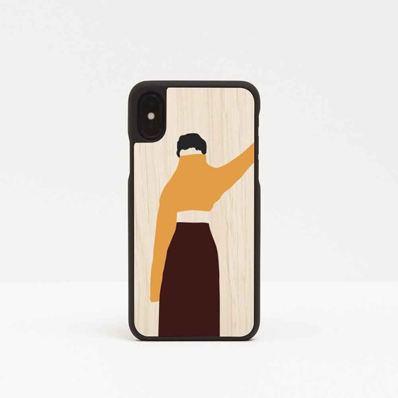 [Pre-Order] Log Phone Case / Morning Girl-iPhone / Huawei