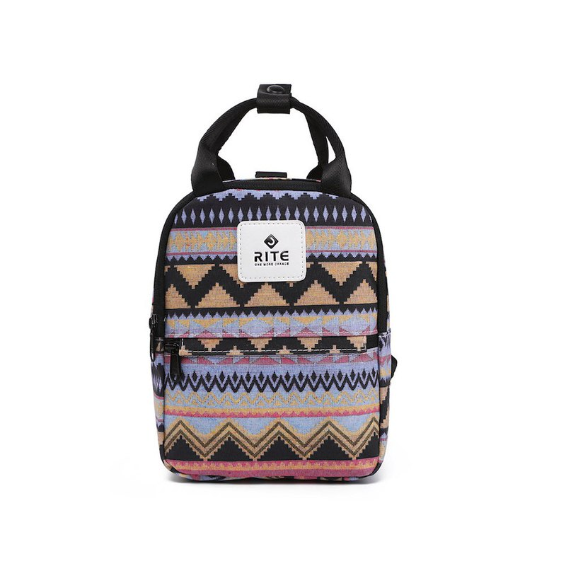 [RITE] V3 Luke Small Bag Small Backpack Backpack Various Back Folk Purple Green