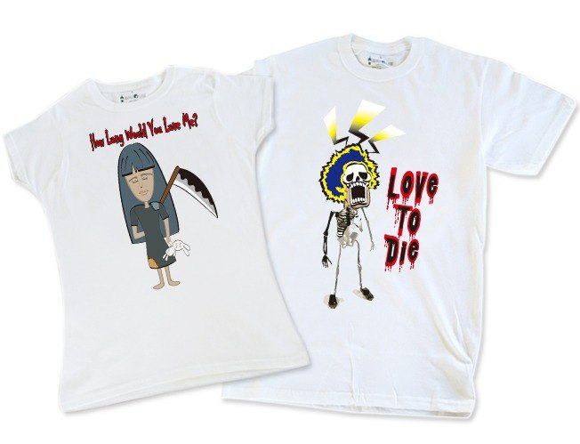 Valentine's Talk Series T-shirt _ love you to love to die