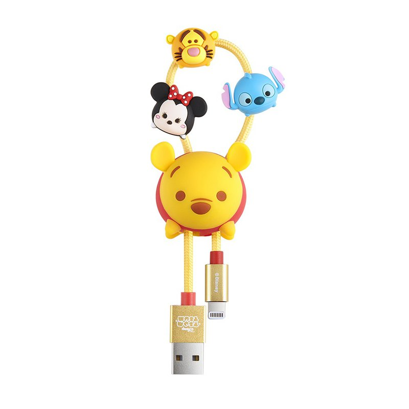 InfoThink TSUM TSUM iPhone/iPad fast charging transmission line - Pooh