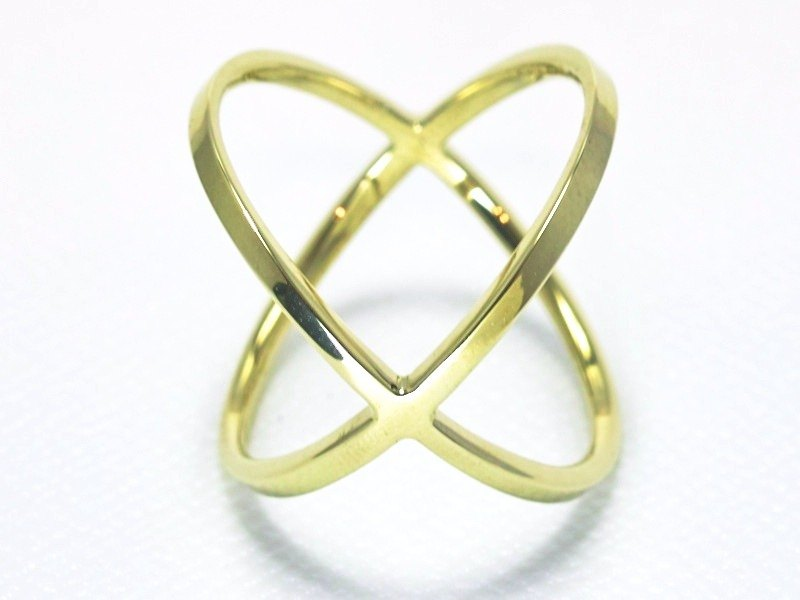 Japan Quality | inGod LOVE Ring KISS Brass