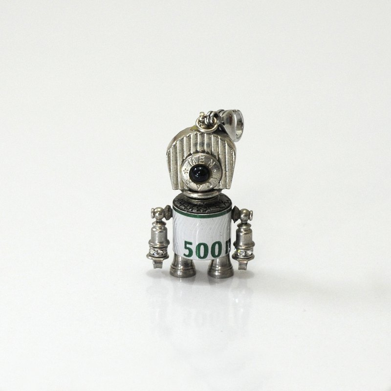 Millet Q6 Robot Necklace. Jewelry