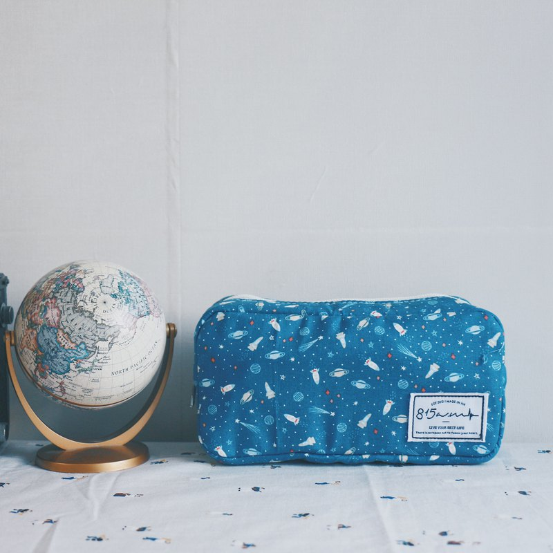 Roaming space pencil case / cosmetic bag | 815a.m