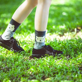 ♦ ♦ polar bear animal series _NAKID SOCKS_ socks _ _ socks socks