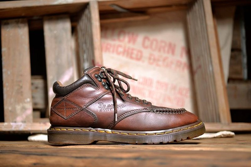 Vintage Dr. Martens Shoes work Series Martin Boots Inch Old Martin