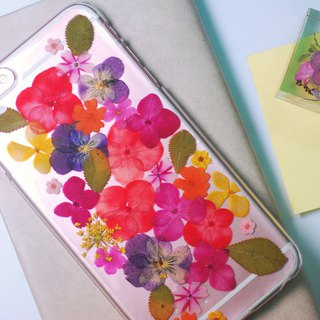 押花手機殼 | pressed flower phone case