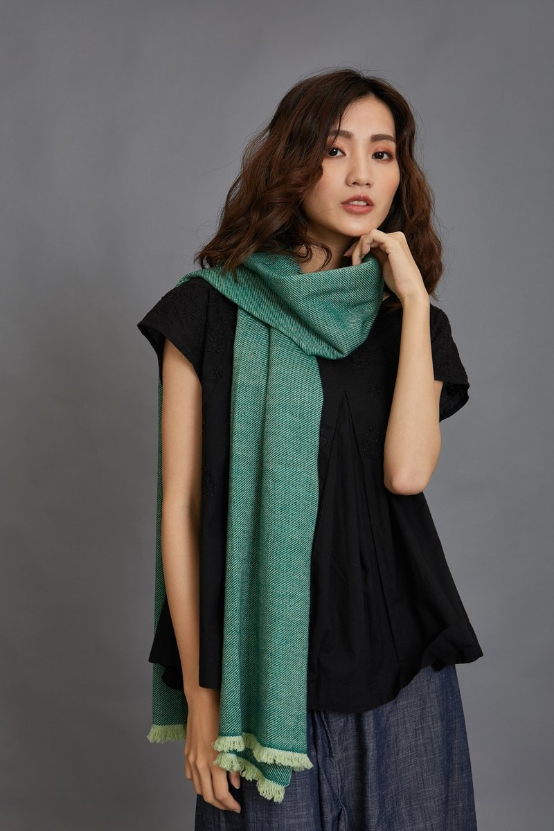 Foggy wool scarf - fair trade
