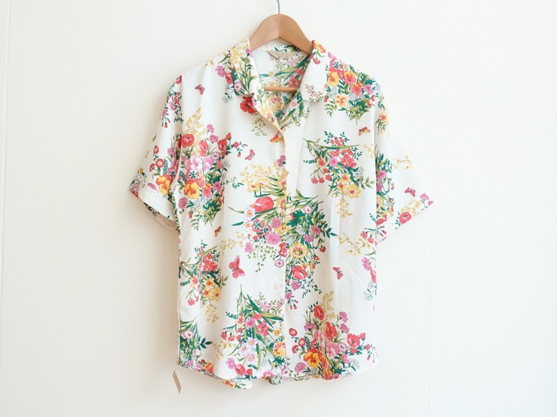 Vintage / Shirt / Short sleeve no.185 tk