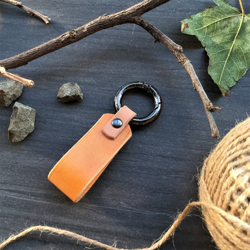 Xuan window leather art - handmade leather - key ring mini custom custom Wen Wen Wen Qing