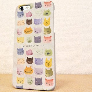送料無料☆iPhone case GALAXY case ☆暖かい猫の顔 phone case