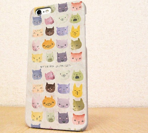 Free Shipping ☆ iPhone case GALAXY case ☆ warm cat face phone case