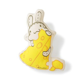 Foufou Rolling Pillow - Rabbit Breguet Cheese