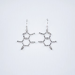 [Chemical Beauty] Theobromine Chocolate Earrings