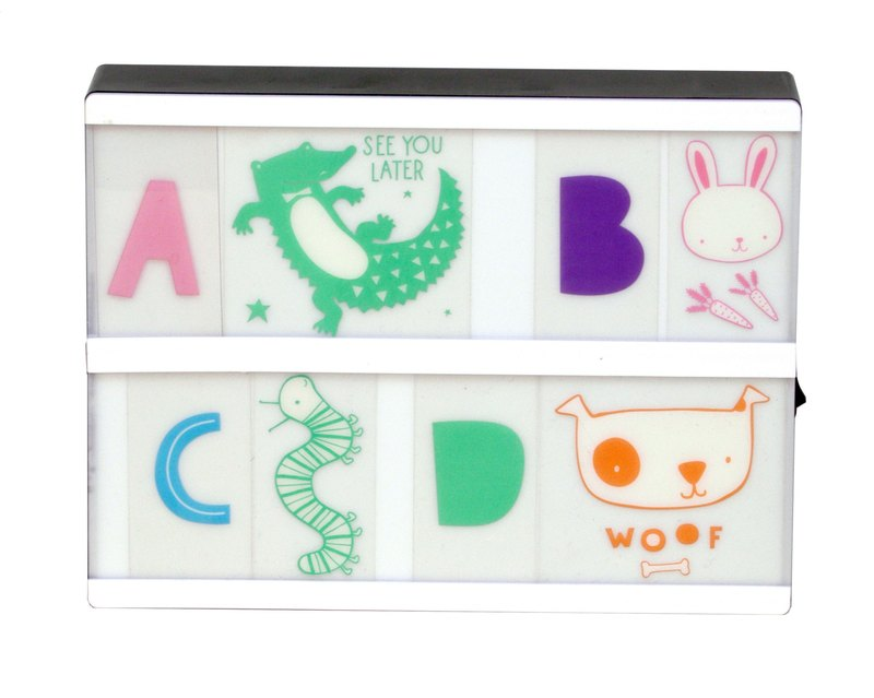 [Lightbox Lights] Netherlands A Little Lovely Company ABC Color Animal