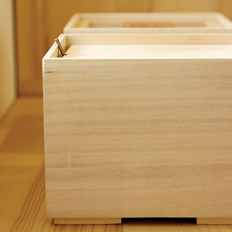 Paulownia Vegetable Storage Box S