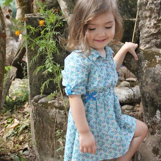 Liberty long sleeve baby dress