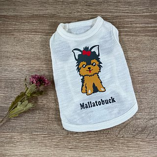 [Hairy child name customized models] Yorkshire Yorkshire Terrier reflective vests (hairy child paragraph)
