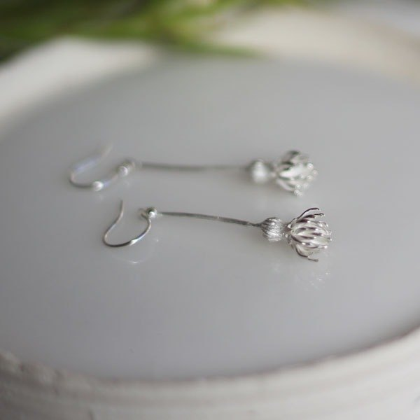 sv925 Thistle Earrings