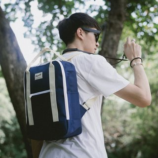 BACKPACK Navy / Beige
